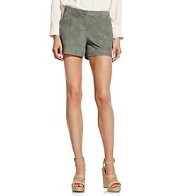 Vince Camuto® Faux Suede Shorts