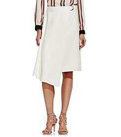 Vince Camuto® Belted Wrap Skirt