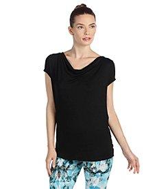 Karen Kane® Short Sleeve T-Back Top