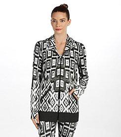 Karen Kane® Geometric Printed Jacket