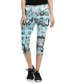 Karen Kane® Ice Print Active Crop Pants