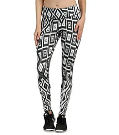 Karen Kane® Geometric Printed Active Pants