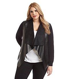 MICHAEL Michael Kors® Plus Size Drape Front Cardigan