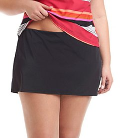 Jag Sport® Plus Size Solid Skirt
