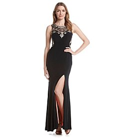 Betsy & Adam® Jeweled Gown
