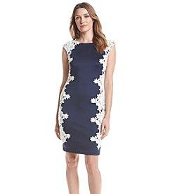 JAX® Lace Sheath Dress