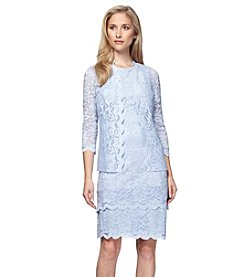 Alex Evenings® Lace Jacket Dress