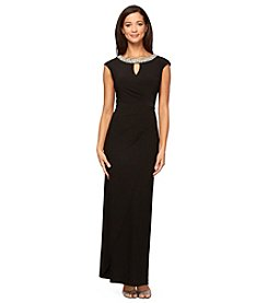 Alex Evenings® Beaded Neck Gown