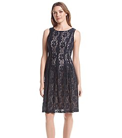 Ivanka Trump® Lace Fit And Flare Dress