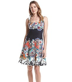 Nine West® Printed Tank Dress