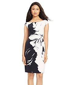 Lauren Ralph Lauren® Floral Print Jersey Dress