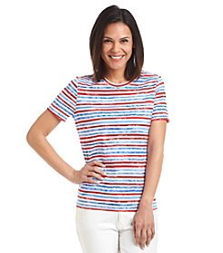Studio Works® Stripe Crew Neck Tee
