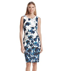 Ivanka Trump® Ponte Zipper Sheath Dress
