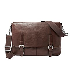 Fossil® Men's Graham Leather Messenger Bag