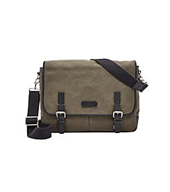 Fossil® Men's Graham Canvas Messenger Bag