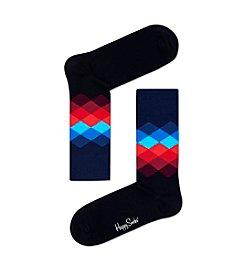 Happy Socks® Men's Diamond Patterned Socks