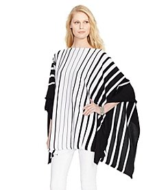 Lauren Ralph Lauren® Striped Poncho