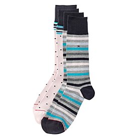 Tommy Hilfiger® Men's 2-Pack Striped Dress Socks