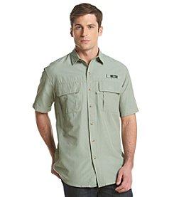 G.H. Bass & Co. Men's Short Sleeve Explorer Button Down Shirt