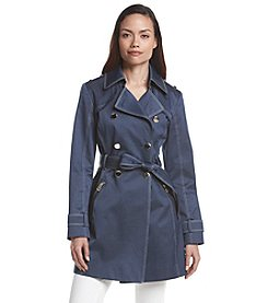 GUESS Denim Trench Coat