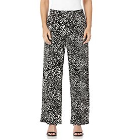 Rafaella® Dot Print Soft Pants