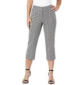 Rafaella® Leopard Print Cropped Pants