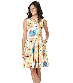 Rafaella® Floral Print Scuba Dress