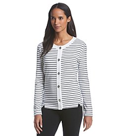Rafaella® Striped Cardigan