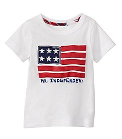 mix&MATCH Baby Boys' Short Sleeve American Flag Printed Tee