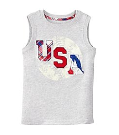 Mix & Match Boys' 2T-7 Baseball Applique Muscle Tank