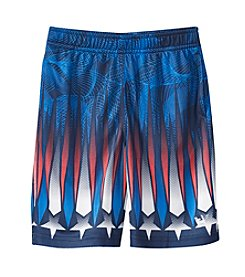 Mambo® Boys' 4-7 Patriotic Printed Mesh Shorts