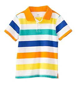 mix&MATCH Boys' 2T-7 Short Sleeve Striped Polo