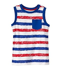 Mix & Match Boys' 2T-7 Striped Muscle Tank