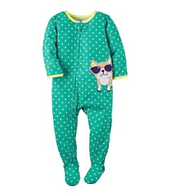 Carter's® Girls' 2T-6X Dot Dog Sleeper