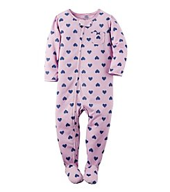 Carter's® Girls' 2T-6X Heart Pattern Sleeper