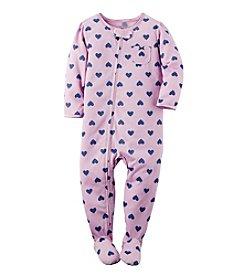 Carter's® Girls' 2T-6X Heart Pattern Sleeper