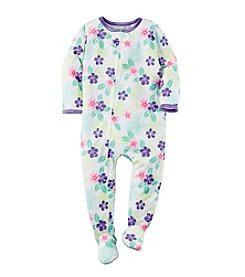 Carter's® Girls' 2T-6X Floral Print Sleeper
