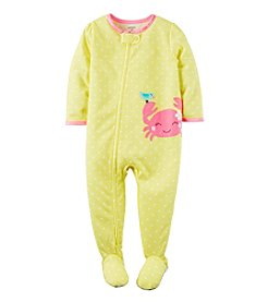 Carter's® Girls' 2T-6X Dot Crab Sleeper