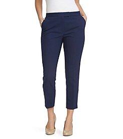 Chaus Heather Slim Leg Cropped Pants