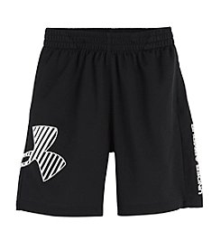 Under Armour® Boys' 2T-4T Black Striker Shorts