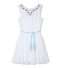 A. Byer Girls' 7-16 Embellished Dress With Belt