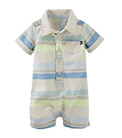 OshKosh B'Gosh® Baby Boys' 12-24 Month Horizontal Striped Romper