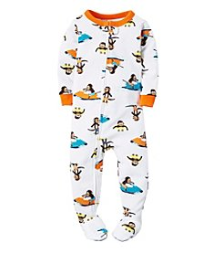 Carter's® Boys' 2T-7 Monkey Surfer Print Sleeper
