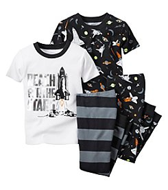Carter's® Boys' 12M-8 'Reach For The Stars' 4-Piece Pajama Set
