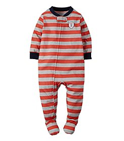 Carter's® Boys' 2T-7 Striped Baseball Sleeper