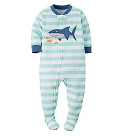 Carter's® Boys' 12M-4T Striped Shark Sleeper