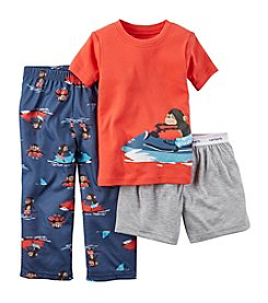 Carter's® Boys' 5-16 Jetski Monkey 3-Piece Pajama Set