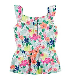 Carter's® Girls' 2T-6X Tropical Printed Tunic