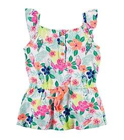 Carter's® Girls' 2T-6X Tropical Printed Tunic