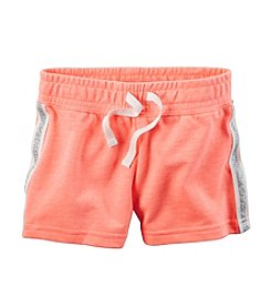 Carter's® Girls' 2T-6X Glitter Stripe Shorts